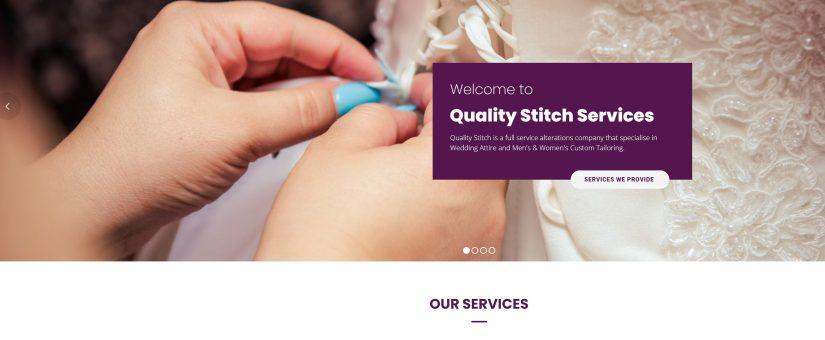 New Website for Quality Stitch